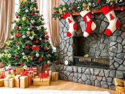 Christmas Decoration Ideas Fireplace Fireplaces Simple Merry Fireplace Crackling Fire Sounds Photos Of