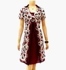 gambar model baju batik modern jual dress batik modern murah model terbaru online