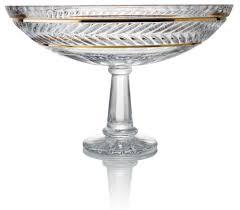 Rogaska Crystal Vase Where To Buy Trump Home Mar A Lago Footed Rogaska Crystal