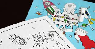 make my own coloring book new coloring book introduces kids of all genders to menstruation