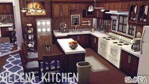 sims kitchen ideas helena kitchen by alwayolive at simkea via sims 4 updates future
