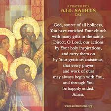 prayer for all saints day prayers u0026 quotes pinterest saints