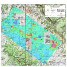 Radon Map Usa by Results Of Aerial Surveys Of Gamma Radiation Around Ambrosia Lake