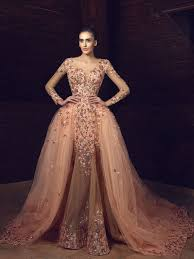 wedding and occasion dresses tony chaaya haute couture evening dresses 2017 hi miss puff