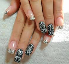 gel nails christmas ideas images