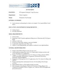 Cashier Job Description For Resume Legal Assistant Description For Resume How To Make A Resume For