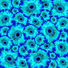 Hintergrundmuster Blau Kostenlose Illustration Blumen Hintergrund Muster Natur