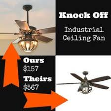 Ceiling Fan With Cage Light 52 Edison Rustic Ceiling Fan W Industrial Cage Light Ceiling