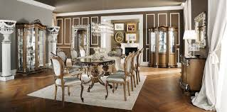 Classic Dining Room Furniture by Classic Dining Table Wooden Rectangular Round Bella Vita