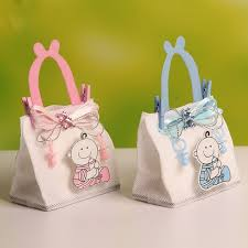 favor bags new 7 5 4 5 12cm baby boy figure wedding candy chocolate bags