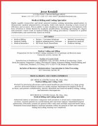Admissions Coordinator Resume Cover Letter For Medical Billing Specialist Image Collections