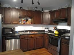 kitchen ideas with stainless steel appliances restained kitchen cabinet pictures and ideas