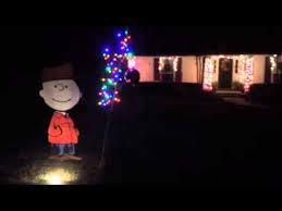 charlie brown christmas lights charlie brown christmas lights youtube