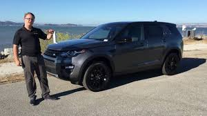 land rover discovery 2016 black 2017 land rover discovery sport hse review youtube