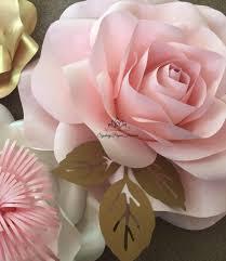 Paper Flowers Video - rose medium paper flower tutorial u0026 template paper flowers paper