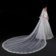 wedding veils 2017 new wedding veil 5 meters bridal veils top quality
