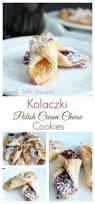 rugelach cookies cream cheese dough is rolled with sweet