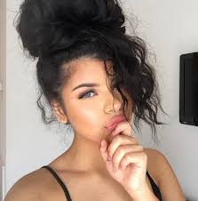 pics of black pretty big hair buns with added hair 43 best bomb buns images on pinterest plaits hair dos and