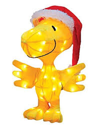 Peanuts Outdoor Christmas Decorations Tinsel Outdoor Christmas Decorations Amazon Com