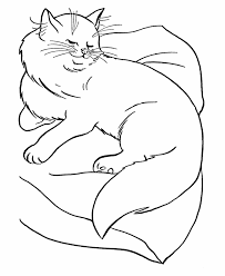 free printable cat coloring pages coloring pages cats big cat
