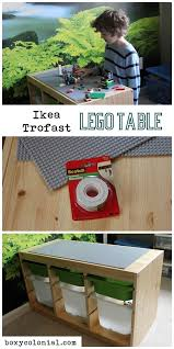 Legos Table Diy Ikea Lego Table Aka The Super Secret Project The Day The