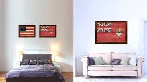 Home Decor Canada by Canadian Red Ensign City Canada Country Texture Flag Home Decor