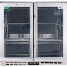glass door bar fridge perth rhino s steel glass door commercial bar fridge buy stainless