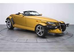 2002 chrysler prowler for sale classiccars com cc 986404