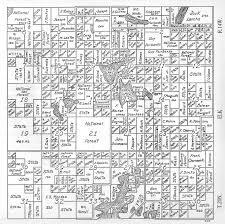 Michigan Township Map by Lake Co Michigan Farm Plat Book