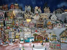 ceramic christmas villages u2013 happy holidays