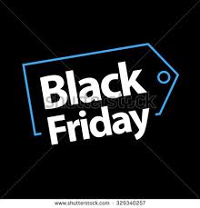 black friday email template black friday sale vector template red stock vector 329340602