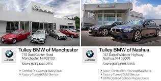 bmw of tulley bmw bmw dealership in nashua and manchester nh 03104