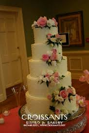 5 tier wedding cake traditional wedding cakes croissants myrtle bistro bakery