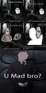 Slender Meme - poor shadowlurker slender man know your meme
