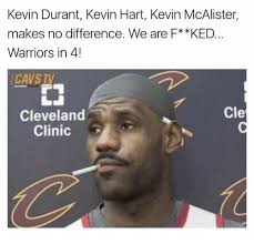 No Kevin Hart Meme - kevin durant kevin hart kevin mcalister makes no difference we are f