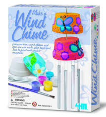 amazon com 4m make a wind chime kit toys u0026 games