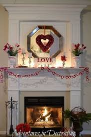 Valentine Home Decor Valentine Home Decor Ideas Mantle Frugal And Decorating
