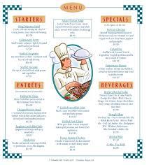 word restaurant menu template free menu template 21 free word pdf