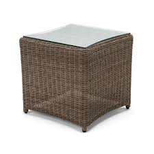 Outdoor Side Table Rattan Kettler Banaba Side Table Rattan Notcutts Notcutts