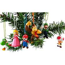 mario brothers ornaments figurines pack