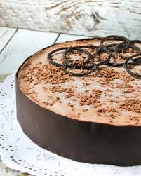 chocolate mousse cake spanish recipe postres pinterest