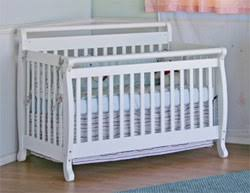 Davinci Emily 4 In 1 Convertible Crib White Davinci Emily 4 In 1 Convertible Crib In Coffee Baby