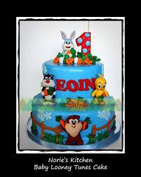 norie u0027s kitchen u2013 baby looney tunes cake norie u0027s kitchen custom