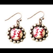 sookie sookie earrings sookie sookie baseball luxe earrings ravishing rugged sookie