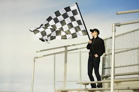 Finish Line Flag Race To The Finish Line This Weekend Our Thrifty Nickel Blog