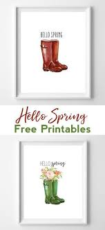 free printable art home decor wellington boots printables spring printables printable art
