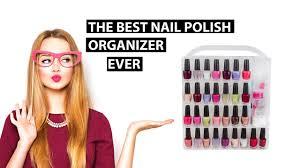 nail caddy the best nail polish organizer ever youtube
