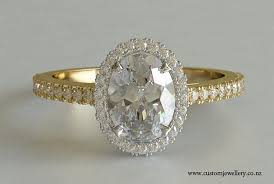 yellow gold oval engagement rings oval engagement ring yellow halo on 5 ifec ci