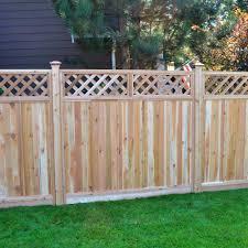 decoration ravishing fence designs and ideas backyard front yard