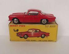alfa romeo dinky diecast vehicles ebay